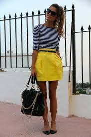 Short, cute and with stripes- I love stripes