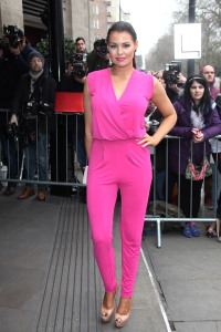 Jessica Wright at the TRIC awards in London